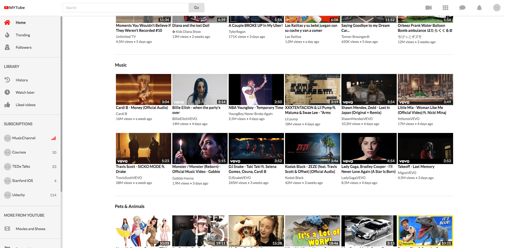 Build Youtube in React 31: Infinite Scroll in Home feed